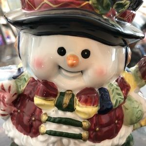 Rare vintage style Frosty the snowman mug cup